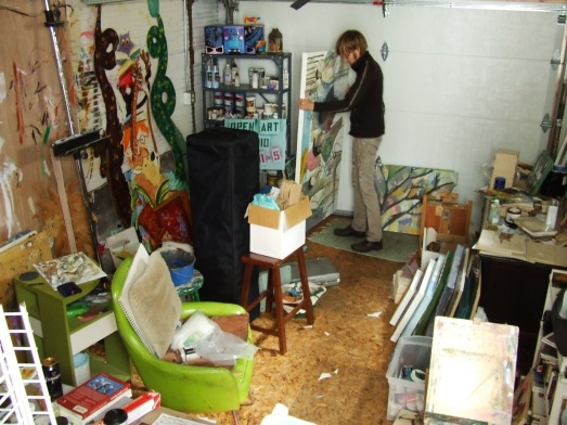Cody's studio 1