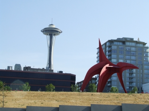 Red Dog and Space Needle