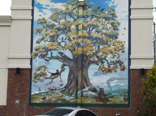 Walgreen's mural