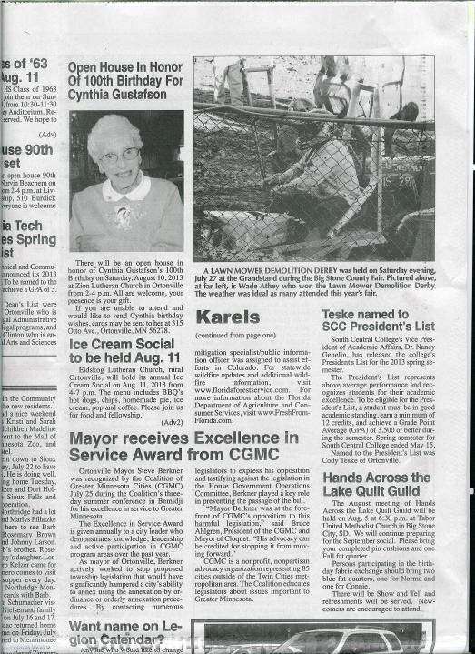 Berkner Coalition Award 001